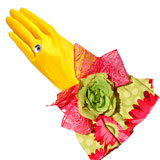 Sunflowers Designer Dish Glove